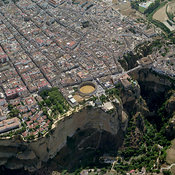 Province of Málaga aerial photos