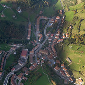 Zegama aerial photos