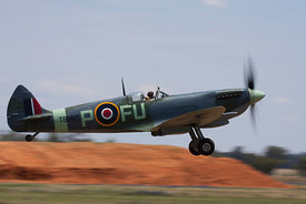 Spitfire MkXVI take off