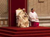 Pope Francis presides over the 1st World Day of Prayer for the Care of Creation at St. Peter's Basilica.