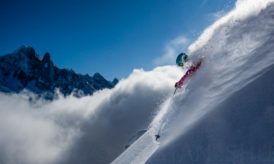 Powder action with Rachael Burks