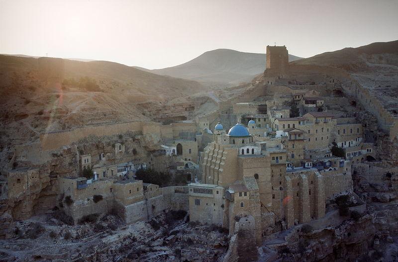 michael freeman photography mar saba greek monastery