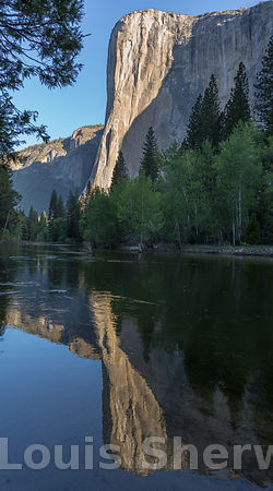 El Capitan in the Morning Light.