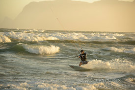 Kitesurfing has become a very popular sport and Cape Town's windy weather has made it a popular spot for kitesurfers of all abilities.