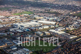 Aerial Photographs Taken In and Around Slough-Observatory Shopping Centre