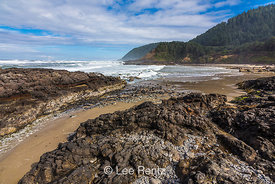 View from Strawberry Hill along the Oregon Coast