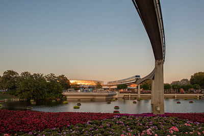 EPCOT-Monorail-Test-Track-Evening-7429