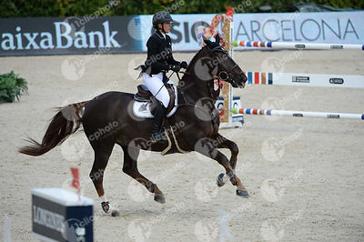 Gudrun PATTEET ,(BEL), SEA COAST ATLANTIC during Queen's Cup - Segura Viudas Trophy competition at CSIO5* Barcelona at Real Club de Polo, Barcelona - Spain