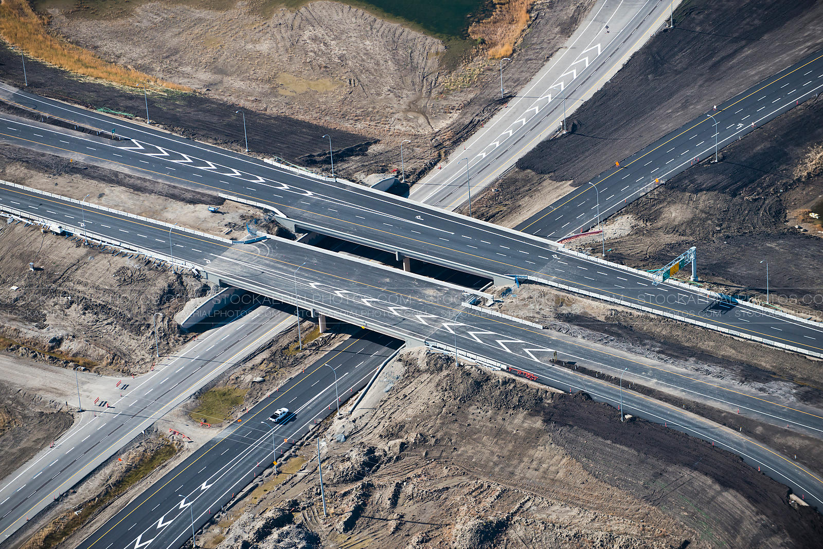 Highway Interchange Construction