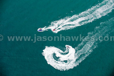 Jet Skiers near Hengistbury Head, Christchurch