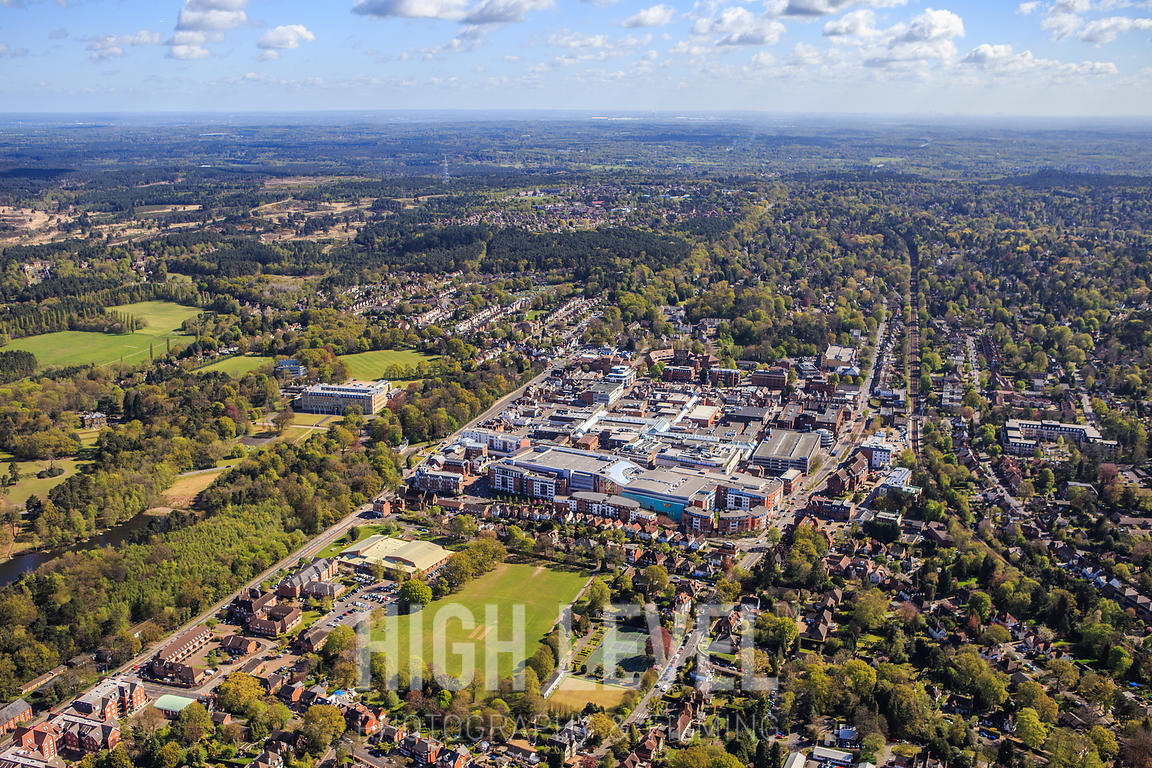 Aerial Photography Taken In and Around Camberley, UK