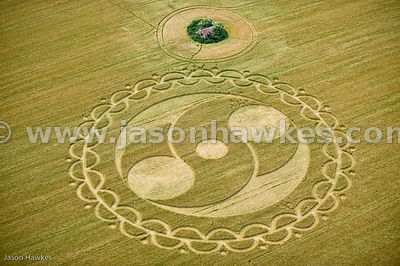 Crop Circle near Bishops Cannings, Wiltshire