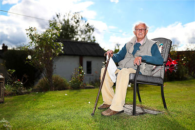 Castleford man Albert Russell is celebrating his 100th birthday.