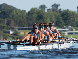 Taken during the National Championships 2018, Lake Karapiro, Cambridge, New Zealand; ©  Rob Bristow; Frame 0978 - Taken on: Friday - 16/02/2018-  at 09:01.01