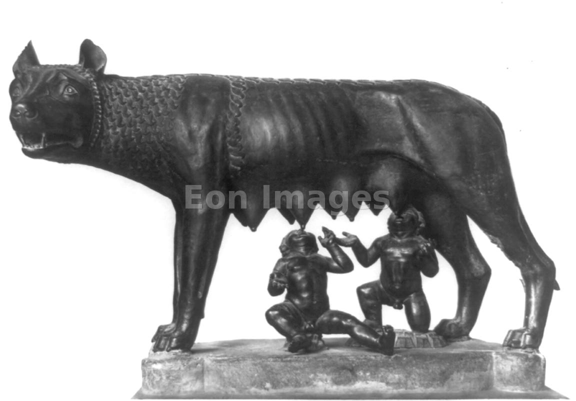 Capitoline Wolf, Romulus and Remus