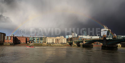 Stormy London.