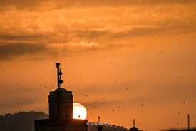 Sunset over the Medina in Fes, Morocco