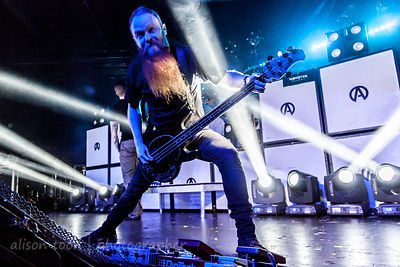 Porter McKnight, bass, Atreyu