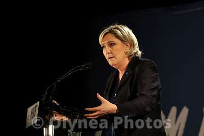 Meeting de Marine Le Pen