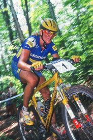 PAOLA PEZZO MONT STE ANNE, QUEBEC, CANADA. GRUNDIG WORLD CUP 1997