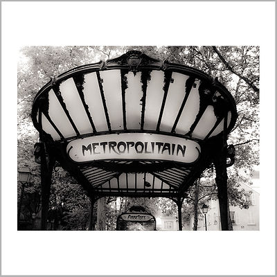 Abbesses Métro Station (Art Nouveau Style) - Paris (France)