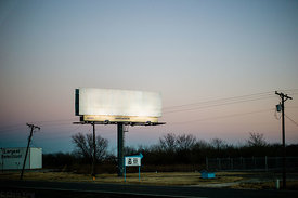 """Texas billboard"" (2013)"