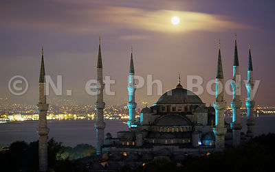 MOSQUEE BLEUE, ISTANBUL, TURQUIE//BLUE MOSQUE, ISTANBUL, TURKEY