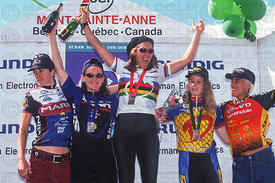LEIGH DONOVAN AWARD CEREMONY MONT STE ANNE, QUEBEC, CANADA. GRUNDIG WORLD CUP 1996