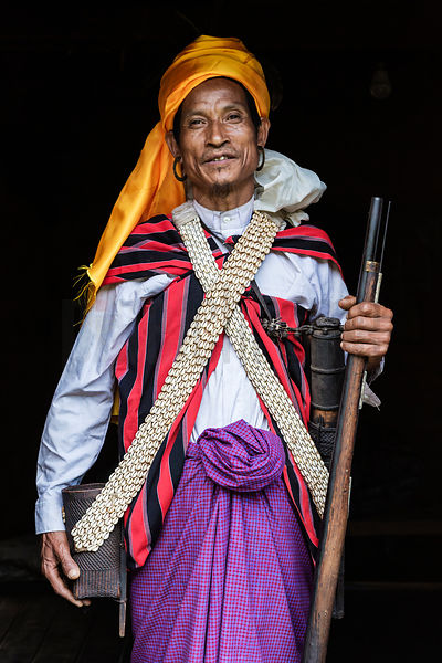 Portrait of a Man in Traditional Dress