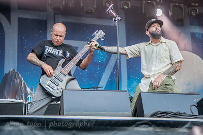 Fred Durst and Sam Rivers, Limp Bizkit Aftershock 2014