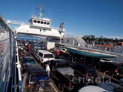 BC Ferry from Swartz Bay to Fulford Harbor on Salt Spring Island