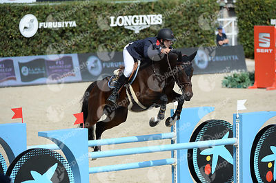 Joe CLEE ,(GBR), VEDET DE MUZE E T during Caixa Bank Trophy competition at CSIO5* Barcelona at Real Club de Polo, Barcelona - Spain