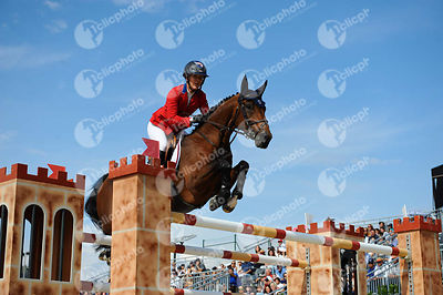 Lauren HOUGH ,(USA), OHLALA during Longines Cup of the City of Barcelona competition at CSIO5* Barcelona at Real Club de Polo, Barcelona - Spain