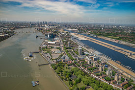 North Woolwich and London City Airport England