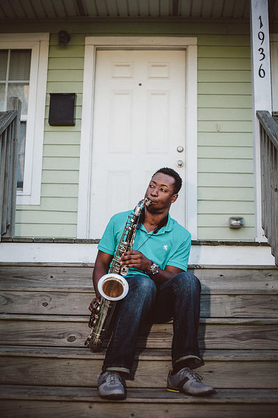 2015 - Portrait du musicien Calvin Johnson Jr.