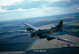 A B-17, called  the Flying Fortress