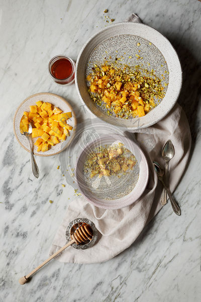 Chia Pudding with Mango