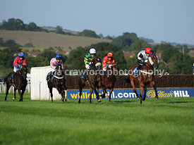 22nd August 2013 6.35pm Handicap Hurdle with winner Rum And Butter