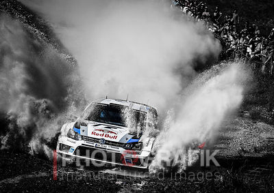 KEY WORDS: SEBASTIEN OGIER / VW POLO R / 2013 / RALLY / MOTORSPORT / PORTUGAL