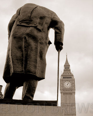 Churchill and Big Ben