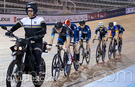Junior Men Keirin 1-6 Final, 2017/2018 Track Ontario Cup #3, Mattamy National Cycling Centre, Milton On, February 10, 2018