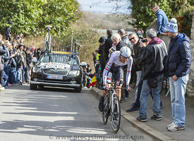 The Cyclist Frank Schleck - Paris-Nice 2016