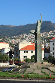 Independence memorial, Funchal, Madeira, Portugal