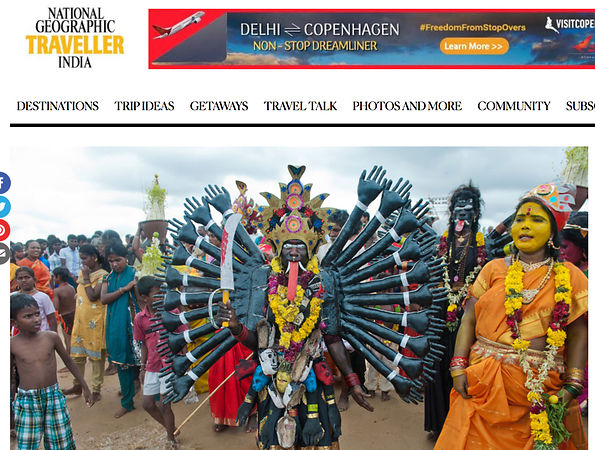 National Geographic Traveller India, Dusshera Photo Essay photos