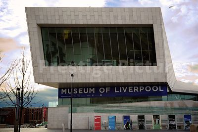 Frontage of the Museum of Liverpool Building