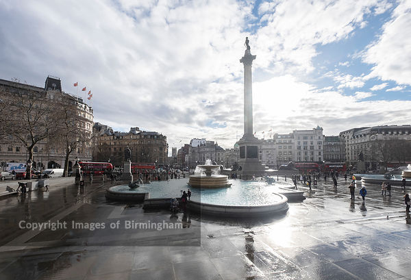 Nelson's Column is a monument in Trafalgar Square in central London