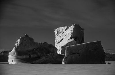 Icebergs, Norway's Svalbard Islands 2014 © Laurent Baheux