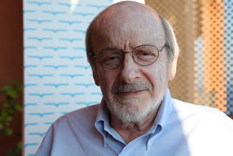 E. L. Doctorow at Le Conversazioni held in Capri, Italy. June 25 2010