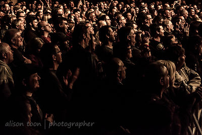 Fans watching Marillion, 2016, New York