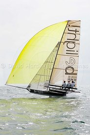 Be Light, HUN 18, 18ft Skiff, Euro Grand Prix Sandbanks 2016, 20160904451
